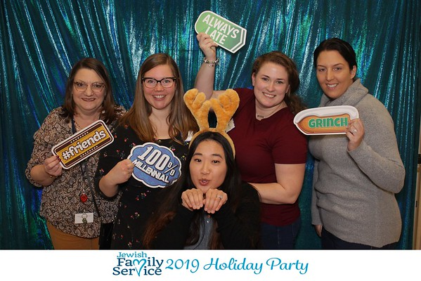 Jewish Family Services  Holiday Party 2019