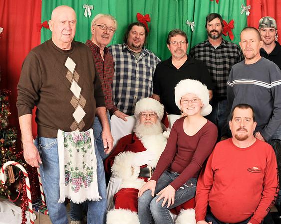 Sportman's Club Santa Claus