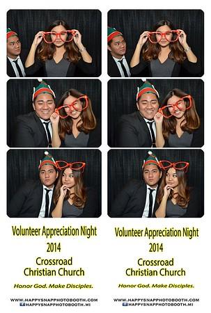 Volunteer`s Appreciation Night - Dec 5, 2014