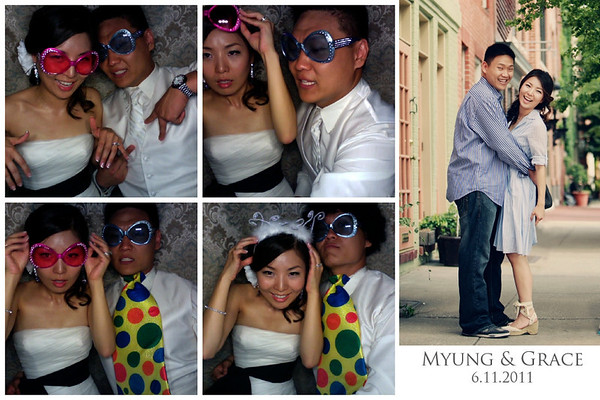 Grace & Myung's Wedding Photo Booth