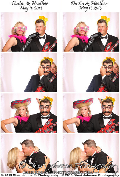 Heather and Dustin's Photo Booth