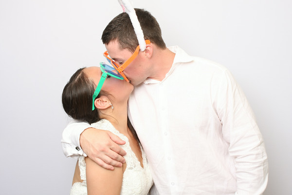 Linda & Brandon's Photo Booth