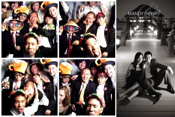 Mandy & Henry Wedding Photo Booth