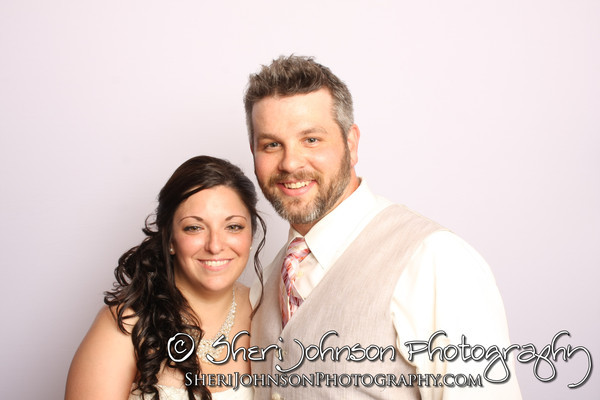 Michele & Jeremy's Photo Booth at their wedding at The McGarity House in Temple, GA