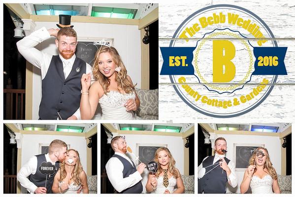 Kristen & William Wedding Photo Booth