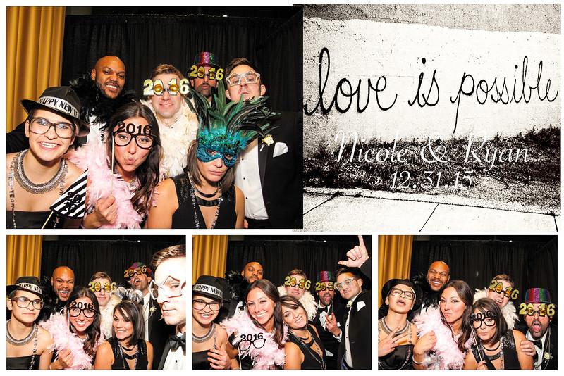Nikki & Ryan Wedding Photo Booth Pictures