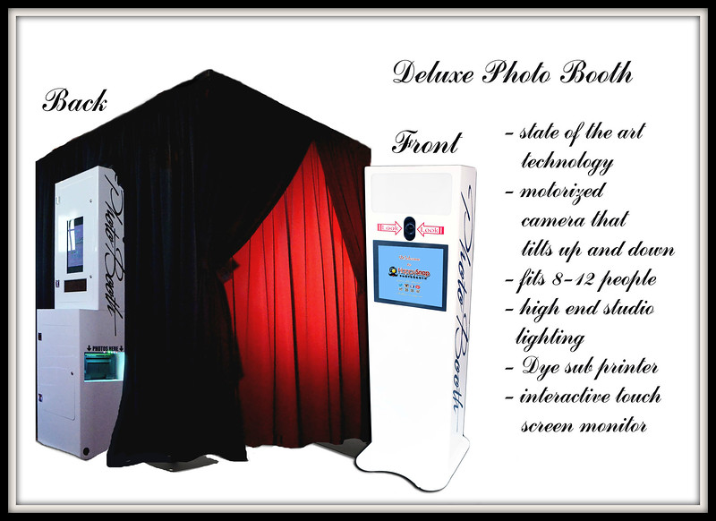 Deluxe Booth with Privacy Enclosure