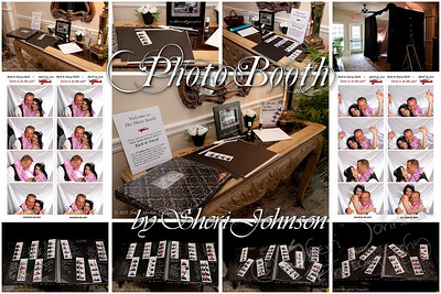 For this wedding we did the photo booth and facilitated the creation of a super fun guest book scrapbook.  More info about my photo booth --->>>  http://www.america-dj.com/wedding-photography/photo-booth-rental.html