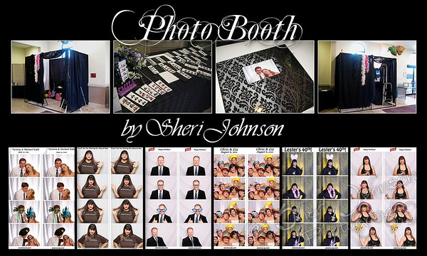 here you see a preview of the photo booth set up