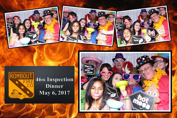 Rombout Fire 46th Inspection Dinner 5/6/17