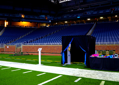 Deluxe Photo Booth at Ford Field