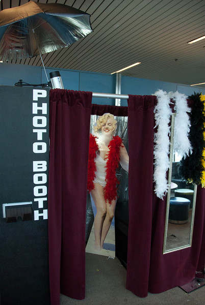 The Booth as setup at PDX for SWA for spirit week 2013