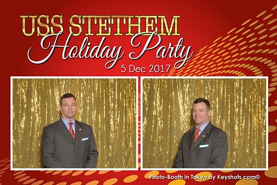 USS Stethem Holiday Party - Photo-Booth 2017