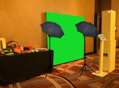 Open-air Green Screen Photo Booth