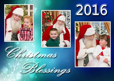 Christmas Blessings blue 2