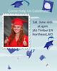 Graduation hats 6x7