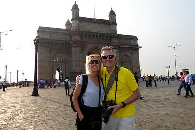 we are enjoying the Gateway to India