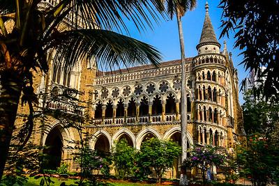 staircase of the University of Mumbai's main British Time building