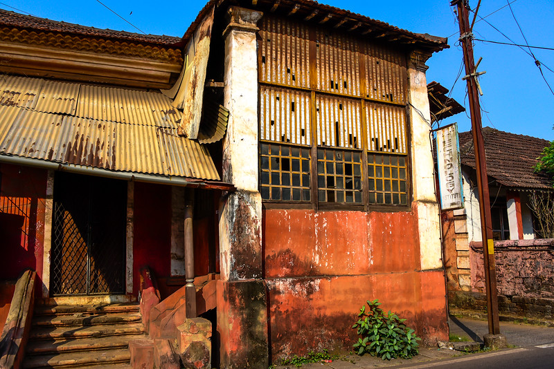 Goa - Technology Institute needs some paint