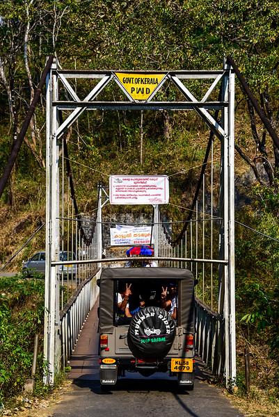 Kerala suspension bridge