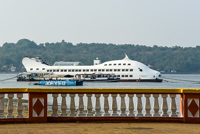 Goa - they love their casinos, this one floats