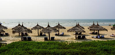 Goa, our beach resort - perfect sand and water