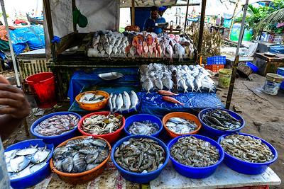 Cochin - the local fish market
