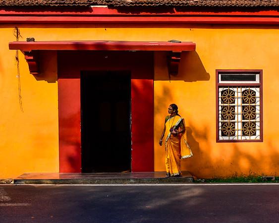 Goa - the colours are so vibrant