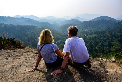 Overlooking Kerala from 1600m