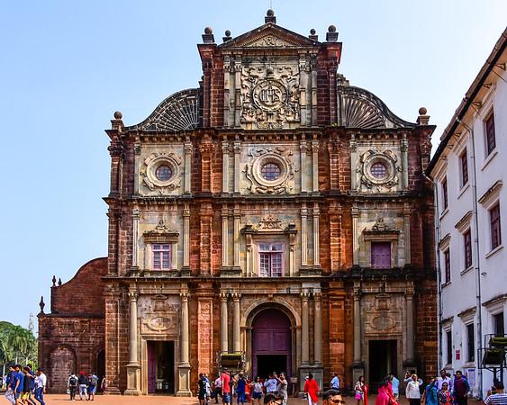 Goa - Basilica of Bom Jesus