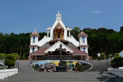 Munnar area church, in the middle of nowhere