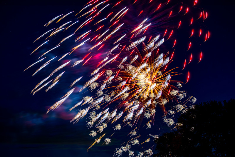 """2016 Canada Day Fireworks """"Red Feathers"""""""