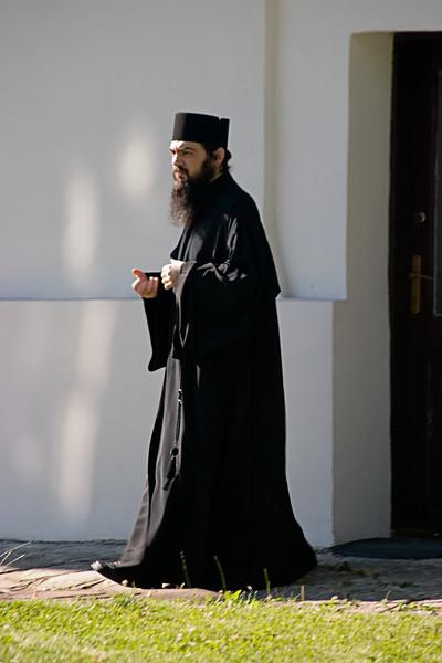 <center>Byzantine Orthodox Priest<br>Sinaia, Romania </center>