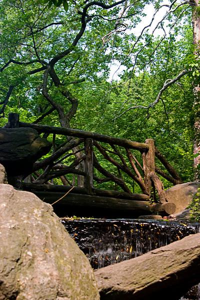 <center>Wooden Bridge <br>New York, NY </center>
