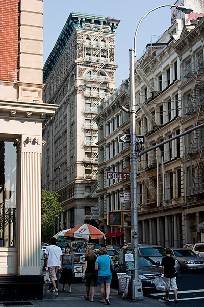 <center>Soho Fire Escapes <br>New York, NY </center>