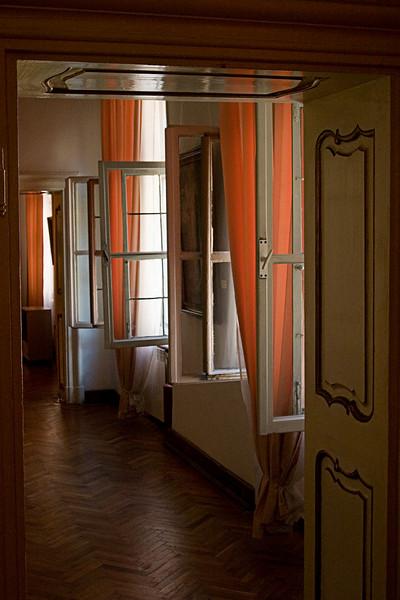 <center>Lit Curtains<br>Sibiu, Romania </center>