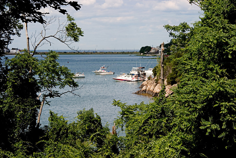 <center>Harbor View <br>World's End<br>Hingham, MA </center>