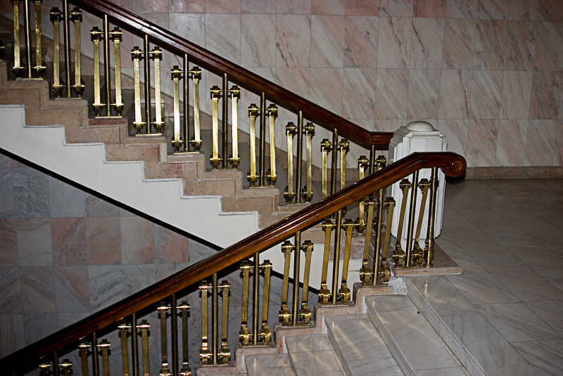 <center>Staircase<br>Bucharest, Romania </center>