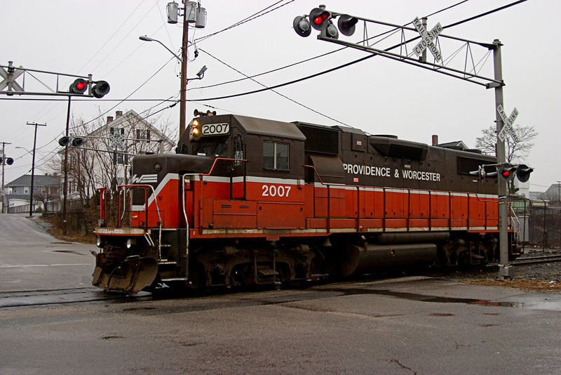 <center>P&W Railroad Engine 2007<br>Pawtucket, RI </center>