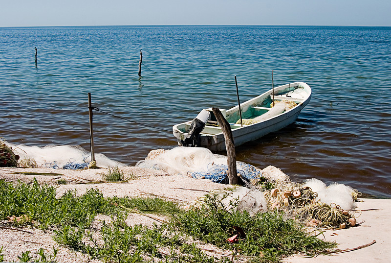 <center>Fishing Boat<br>Campeche, Mexico </center>