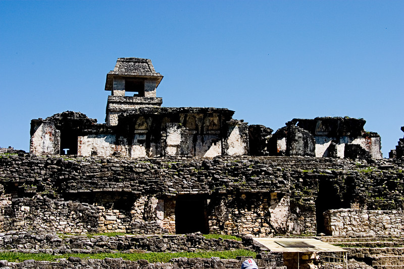 <center>The Palace<br>Palenque, Mexico </center>