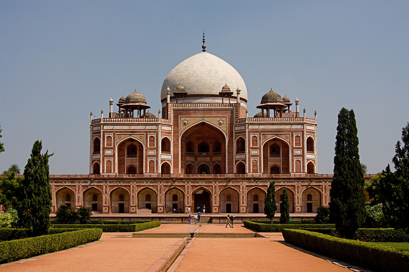 <center>Humayun's Tomb <br>Delhi, India </center>