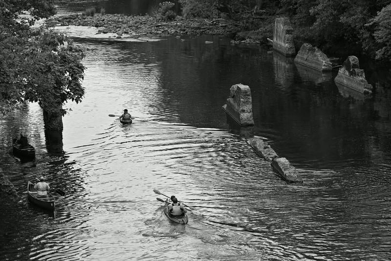 Canoes, Kayaks, and Ruins