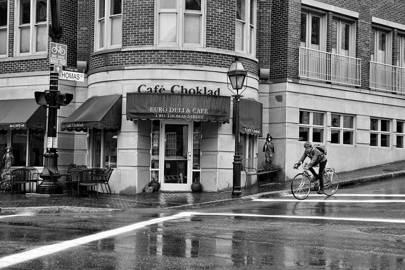 A Wet Bike Ride