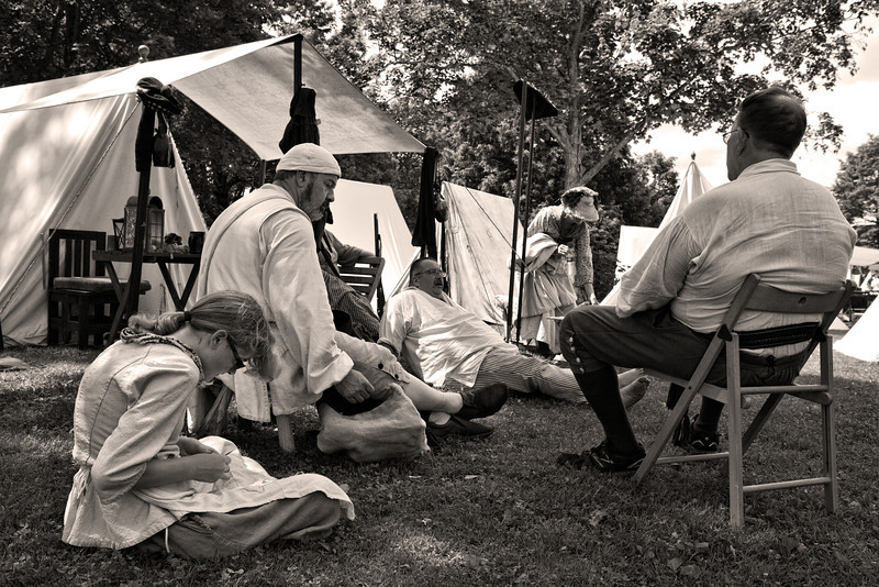 Colonial Militia Encampment