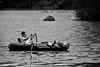 Rubber Raft Fishing