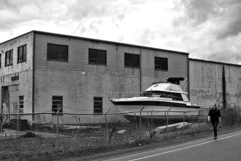 Strolling by the Dry Dock