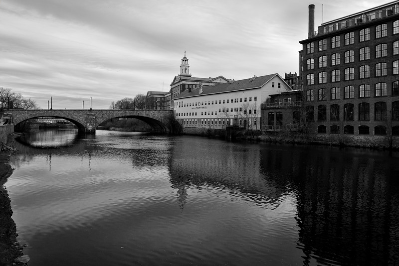 Mills Along the Blackstone River