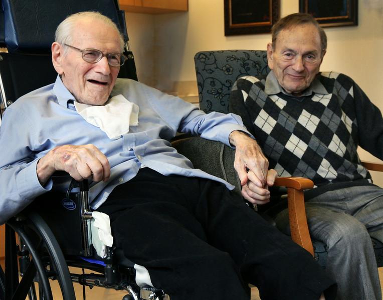 Twins at 90