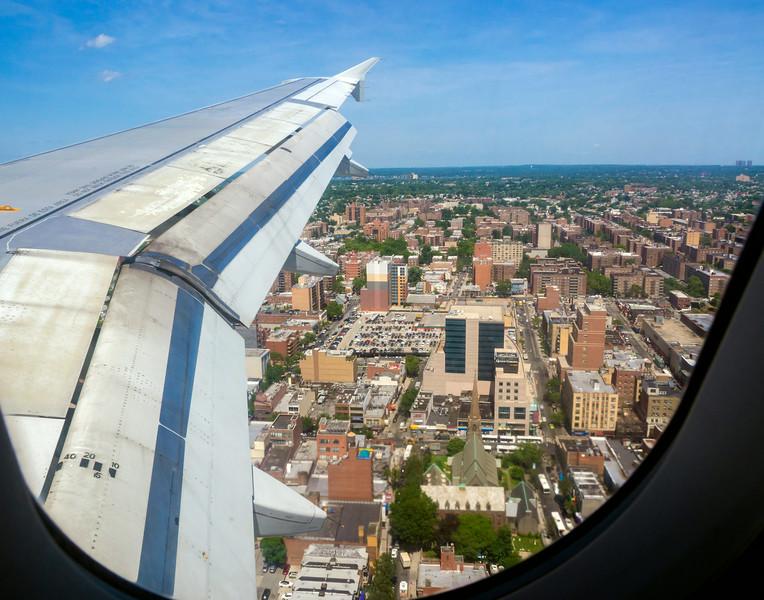 Landing Through Window